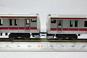 E233系 京葉線 カトーカプラー使用例