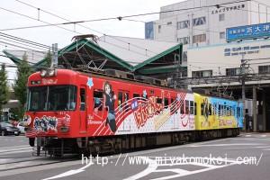 京阪600形けいおん!613-614編成