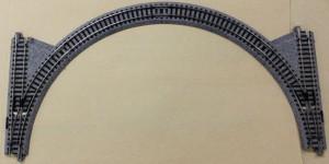 CV-2 ユニトラックコンパクト 交換線電動ポイントセット