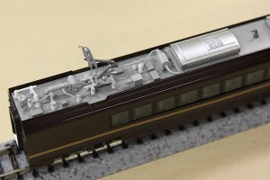 モロE655形パンタまわり
