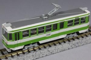 グレイスモデル 函館市電8000形キット組み立て例