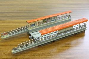 路面電車用プラットホームセット