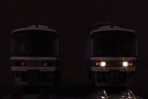 221系 ヘッドライトLED交換