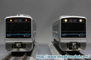 GM 小田急3000形 電球色LED化