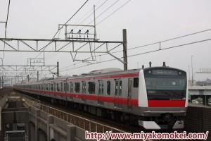 E233系京葉線