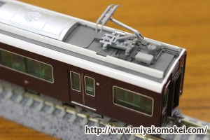 阪急9300系パンタまわり