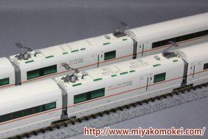 トミックス92754 小田急50000形VSE 墨入れ比較