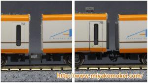 GM 30756・30757 近鉄22000系ACEリニューアル車 中間連結器 KATOカプラー化