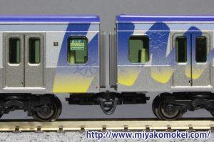 横浜高速鉄道Y500系 連結面