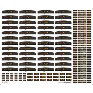 ジオマトリックス J8189B 209系1000番台中央快速線 フィルムシール