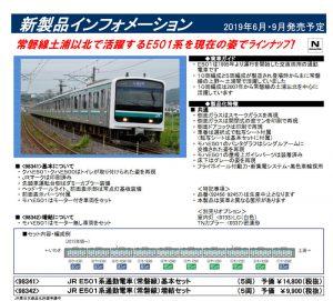 トミックス E501系
