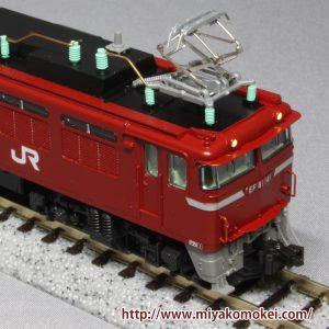 カトー 3066-4 EF81 JR東日本色 双頭連結器
