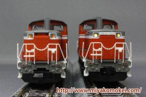 トミックス DD51 LED比較