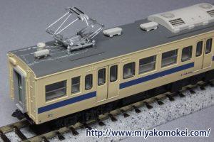モハ114-300組み立て見本