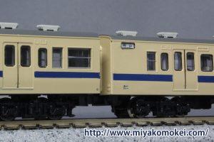 α-model 115系300番台便所撤去部分