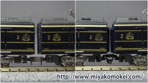 GM 近鉄16200系 中間KATOカプラー化