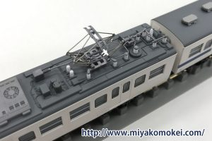 カトー 415系 モハ414パンタまわり