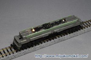 カトー 3058-3 EF62後期形下関運転所 常点灯化