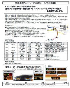 カトー 28-215N 東京メトロ有楽町線・副都心線グレードアップシール