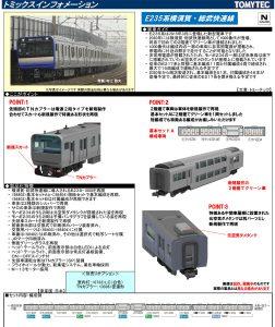 トミックス E235系1000番台