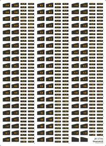 ジオマトリックス・デザイナーズ・インク J8137Ak 701系1000番台LED表示 東北本線(黒磯~一ノ関)