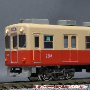京神模型 KLC151AT 阪神電車窓表記1 見本