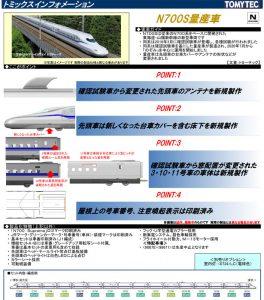 トミックス N700S