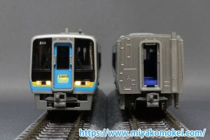 カトー JR四国2000系 電連取付例