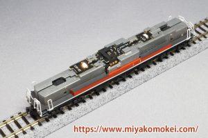 ON-OFFスイッチ付き常点灯ライト基板 K-34 K社機関車用D