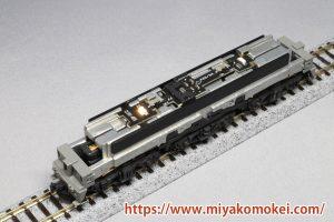 ON-OFFスイッチ付き常点灯ライト基板 K-34 K社機関車用D EF64搭載例