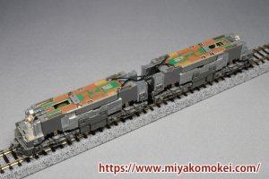 カトー 3037-3 EH500 3次形 新塗装 通電引通し