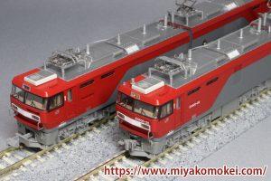 カトー 3037-3 EH500 3次形 新塗装 比較
