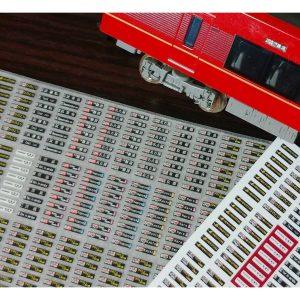 京神模型 近鉄80000系「ひのとり」用行先