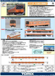 トミックス 201系 中央線