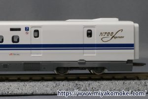 トミックス N700S インレタ転写例