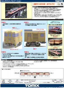 トミックス 名鉄キハ8200系