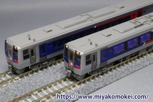カトー JR四国N2000系 墨入れ比較