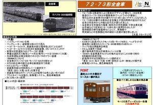 トミックス 72・73形